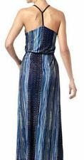 Heine Damen Maxikleid Sommerkleid Kleid blau Neu Gr.40