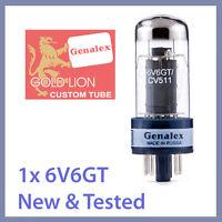 1x NEW Genalex Gold Lion 6V6 / 6V6GT / CV 511 Vacuum Tube TESTED