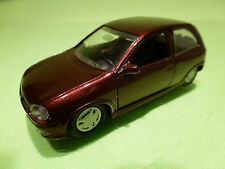 GAMA 1005 OPEL CORSA  - RED/BROWN 1:43 - EXCELLENT CONDITION