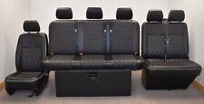 STREAMLINE FULL WIDTH M1 ROCK N ROLL BED + VW T5 FRONT SEAT UPHOLSTERY (406D+DD)