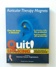 STOP QUIT SMOKING ACUPRESSURE MAGNET THERAPY  ZERO SMOKE--FREE SHIPPING