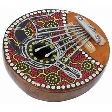 NEU Kalimba 7 Zungen Dotpaint Daumenklavier Musikinstrument Mus115