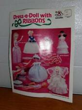 Harold Mangelsen & Sons, Inc. ~ Dress-a-Doll with Ribbons Instruction Bookle