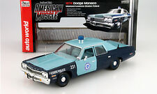 Dodge Monaco Massachusetts State Police 1974 1:18 autoworld