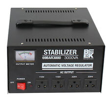 3000VA Automatic Voltage Stabilizer / Regulator 3000W 110VAC 220VAC