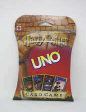 HARRY POTTER Uno Card Game Original 1st Version Mattel 2000 JK Rowling Sealed