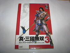 Shin Sangoku Musou 3 PS2 Complete Guide Vol 1 Book Japan import