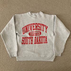 Vintage 90s Champion Reverse Weave USD Crewneck Sweatshirt Kids Large 14-16