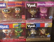 Funko Pop Vynl Chocula LaFooote Tony Tiger Mummy Brute Crunch Monster Cereal Lot