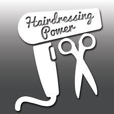 1x Funny Hairdressing Power Car Vinyl Decal Sticker | JDM | Japanese | Miata