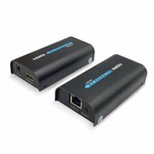 Extensor HDMI sobre IP/TCP CAT5/5e/6/6E RJ45 UTP/STP Ethernet LAN (120m)