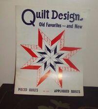 "Vintage ""Quilt Designs Old Favorites - Pieced Quilts, Appliqued Quilts"""