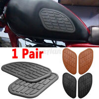Motorcycles Gas Tank Side Cover Rubber Universal Protection Sticker  !! !VD