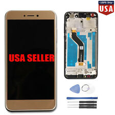 For Huawei P8/P9 Lite 2017 LCD Display & Touch Screen Digitizer & Frame Gold #US