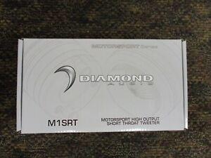 "NEW DIAMOND AUDIO M1SRT MOTORSPORT 1"" HIGH OUTPUT SHORT THROAT TWEETER 100W RMS"