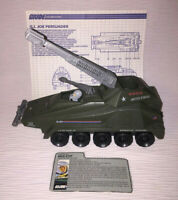 Vintage (Loose, nearly complete) 1987 Hasbro GI Joe ARAH Persuader w/ Backstop