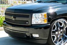GrillCraft Black MX-Series Upper Lower Mesh Grille for Chevrolet Silverado 1500