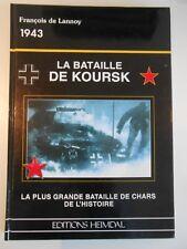 LA BATAILLE DE KOURSK / HEIMDAL / CHARS WW2 BLINDES MILITARIA