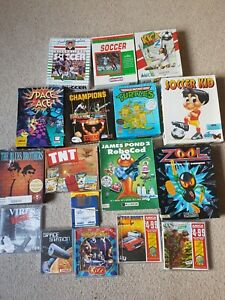 Commodore Amiga Game Bundle Joblot. x16 Games
