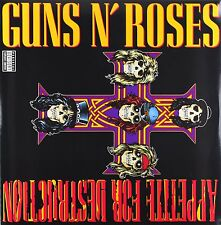 GUNS N' ROSES APPETITE FOR DESTRUCTION VINILE LP 180 GRAMMI NUOVO SIGILLATO