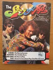 STORY OF POP #19 CREAM COVER CLAPTON BAKER BRUCE BEE GEES MOTOWN MAGAZINE