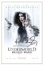 KATE BECKINSALE UNDERWORLD BLOOD WARS SIGNED AUTOGRAPH PHOTO PRINT