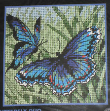 Dimensions Butterfly Duo Needlepoint Kit Unopened NIP #7183