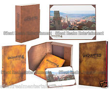 The Art of Uncharted Trilogy & Thief's End Hardcover Books Complete Set of 2