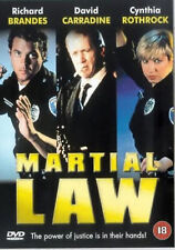 MARTIAL LAW DVD Chad McQueen Cynthia Rothrock Original UK Release New Sealed R2