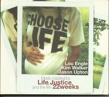 Choose Life. Music inspired by Life, Justice, and the film 22 Weeks- CD LIKE-NEW