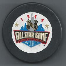 1994 All-Star Game New York City Souvenir Hockey Puck & Commemorative Magazine