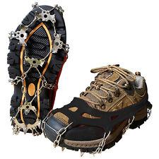 Schuhspikes Eisketten für Schuhe Schuhketten Schuhkrallen Eiskrallen universal