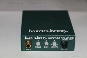 Barcus Berry 3500a Buffer/Preamp/Eq