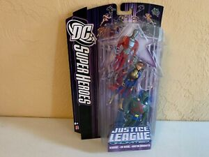 DC Universe Super Heroes Justice League Unlimited Deadshot Big Barda Martain MH