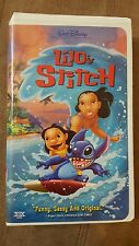 Lilo & Stitch VHS Video Disney Featuring 5 Original Elvis Presley Classics