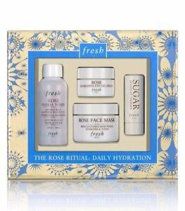 Fresh Rose Ritual Daily Hydration Collection NIB