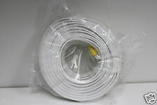 white color  150 Feet Premade Siamese CCTV Cable