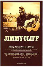 JIMMY CLIFF 2013 Gig POSTER Portland Oregon Concert Reggae