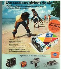 Publicité Advertising 1975 Agfachrome Super 8 par agfa