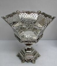 """Fabulous American 1913 Whiting Sterling Silver 10"""" Basket"""