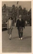 Social History RP pc near Pier Hotel Skegness used 1929 Skeg Card Kiosk