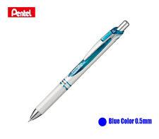 Pentel Energel Deluxe RTX Retractable Gel Pen,0.5mm, Fine Line, Pearl Body-Blue