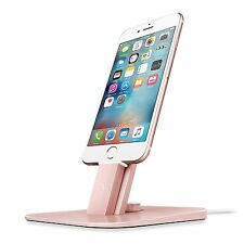 Twelve South HiRise Deluxe Charger Stand Mount Desktop iPhone iPad - Rose Gold
