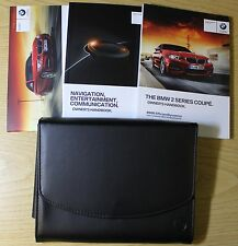 BMW 2 Coupé F22 Manual Owners Manual Cartera 2013-2017 Pack 2861