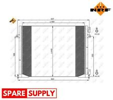 CONDENSER, AIR CONDITIONING FOR OPEL RENAULT NRF 35914