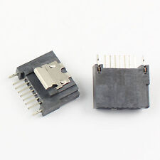 2Pcs New Sata 7 Pin DIP Straight Female Connector For Hard Drive HDD