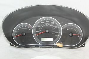 Speedometer Instrument Cluster Dash Panel Gauges 08 Impreza 90,360 Miles