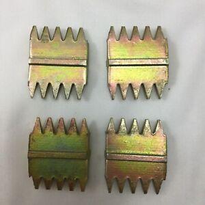 """4 X SCUTCH COMBS 1"""" 25mm 5 X tpi high quality fits 25mm chisels gs3 tool uk"""
