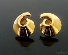 80's elegante Statement Ohrclips Ohrringe, Boucles d'oreilles,Earrings,Orecchini