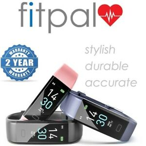 FITPAL Fitness Tracker Smart Watch Sport Step Counter Heart Rate Activity Fitbit